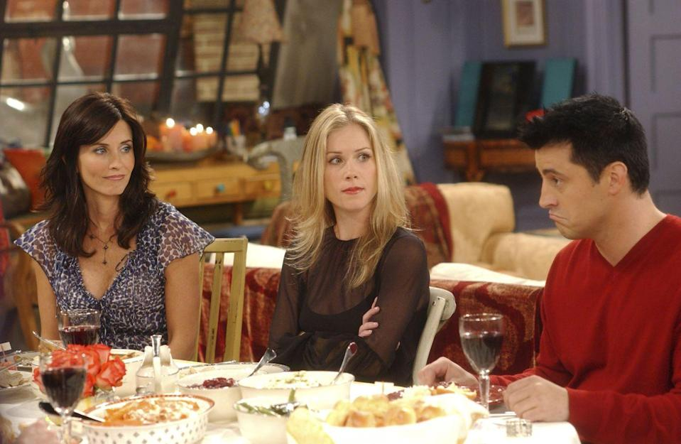 <p>Christina Applegate appeared in two seasons of the series as another one of Rachel's sisters, Amy Green. The actress' performance was so great, it not only earned her fan-favorite status, but also an Emmy for Outstanding Guest Actress in a Comedy in 2003. </p>
