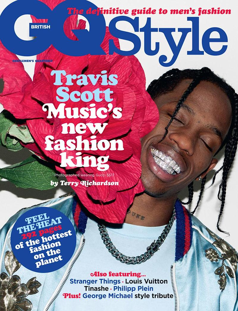 Cover star: Travis Scott is on the cover (GQ Style)