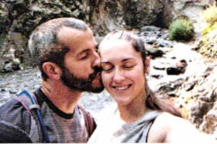 Chris Watts, at left, with Nicole Kessinger