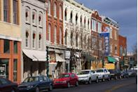 <p>About 21 miles south of Nashville is a much quieter downtown experience that still offers tons of culture. Wind your way through antique shops and restaurants, then catch a live show at one of their award-winning venues, like The Franklin Theatre.</p>