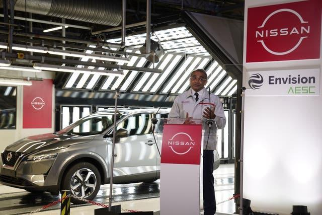 Nissan's chief operating officer Ashwani Gupta announces the plans