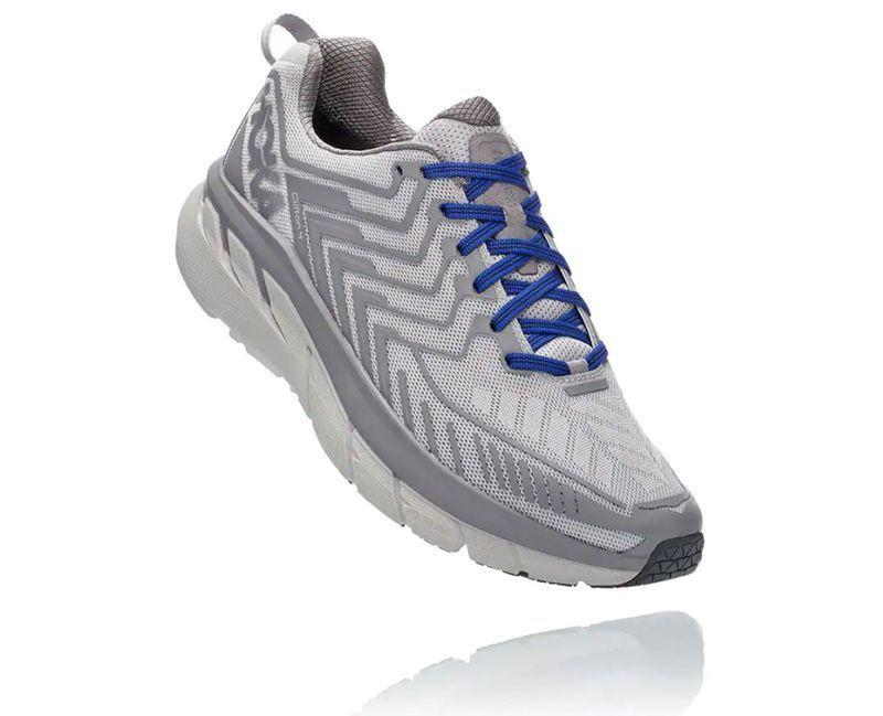 """<p><strong>Hoka One One</strong></p><p>hokaoneone.com</p><p><strong>$140.00</strong></p><p><a href=""""https://go.redirectingat.com?id=74968X1596630&url=https%3A%2F%2Fwww.hokaoneone.com%2Fwomens-road%2Fov-clifton%2F1108410.html&sref=https%3A%2F%2Fwww.womenshealthmag.com%2Ffitness%2Fg23517576%2Fbest-walking-shoes-for-women%2F"""" rel=""""nofollow noopener"""" target=""""_blank"""" data-ylk=""""slk:Shop Now"""" class=""""link rapid-noclick-resp"""">Shop Now</a></p><p>Because these shoes allow your feet to rock off the ground rather than push off with the toes, Dr. Casey Pidich, DPM, recommends these supportive sneaks to patients and has seen results IRL. """"A friend of mine with painful flat feet ran the NYC marathon in Hokas!""""</p><p><strong>Ranking: </strong>4.9/5 stars</p><p><strong>Number of reviews:</strong> 471</p><p><strong>Reviewer Rave: </strong>""""If I could give this shoe 100 stars I would. These are the most-comfortable athletic shoe, or any shoe for that matter, I have ever encountered. They really do make you feel like you are walking on clouds and add a little bounce when you walk.""""</p>"""