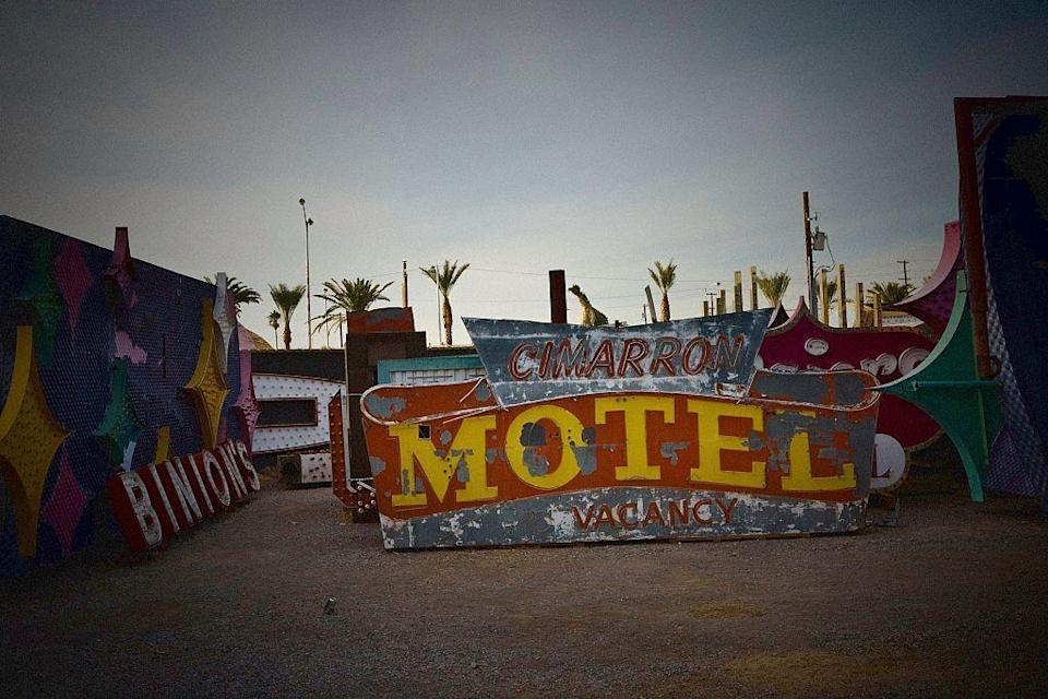 """<p>Lovers of old Las Vegas, vintage style signage, or just curious types will love the <a href=""""http://www.neonmuseum.org/"""" rel=""""nofollow noopener"""" target=""""_blank"""" data-ylk=""""slk:Neon Museum"""" class=""""link rapid-noclick-resp"""">Neon Museum</a>. Here, classic Vegas neon signs live out their twilight years in a fenced-in yard, which you can explore via guided tour.</p>"""