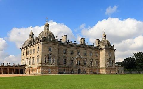 Houghton Hall, Norfolk, England. - Credit: Stuart Aylmer / Alamy