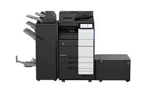 Konica Minolta's new bizhub 750i is a 75ppm MFP, offering a speed not available in its previous monochrome line.