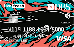 DBS Live Fresh Student Credit Card