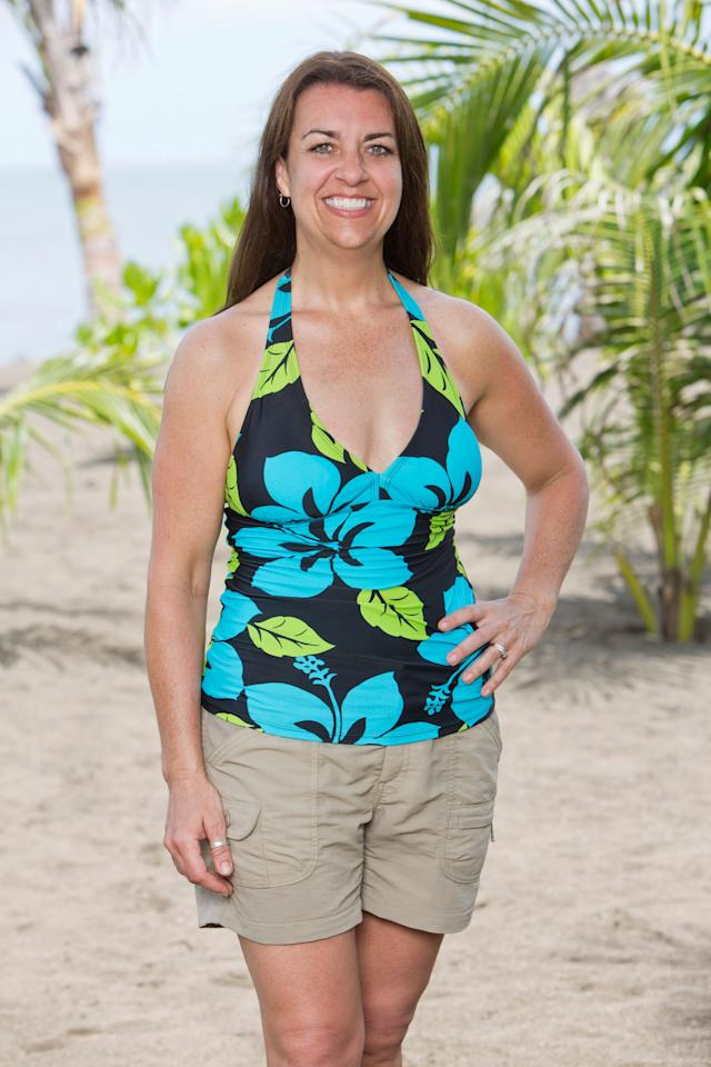 """Laura Boneham will be one of 20 castaways competing with their loved one and other returning players on """"Survivor: Blood vs. Water,"""" when the Emmy Award-winning series returns for Season 27."""