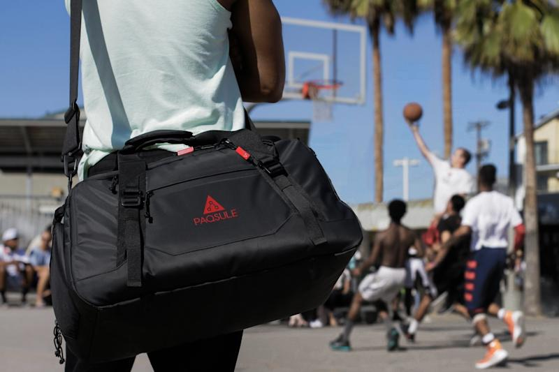 This Duffel Bag on Kickstarter Will Clean Itself—And Your Clothes