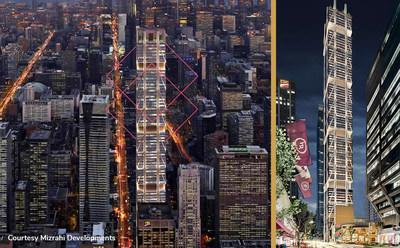 """Otis Canada is supplying 23 elevators to One Bloor West, also known as """"The ONE."""""""