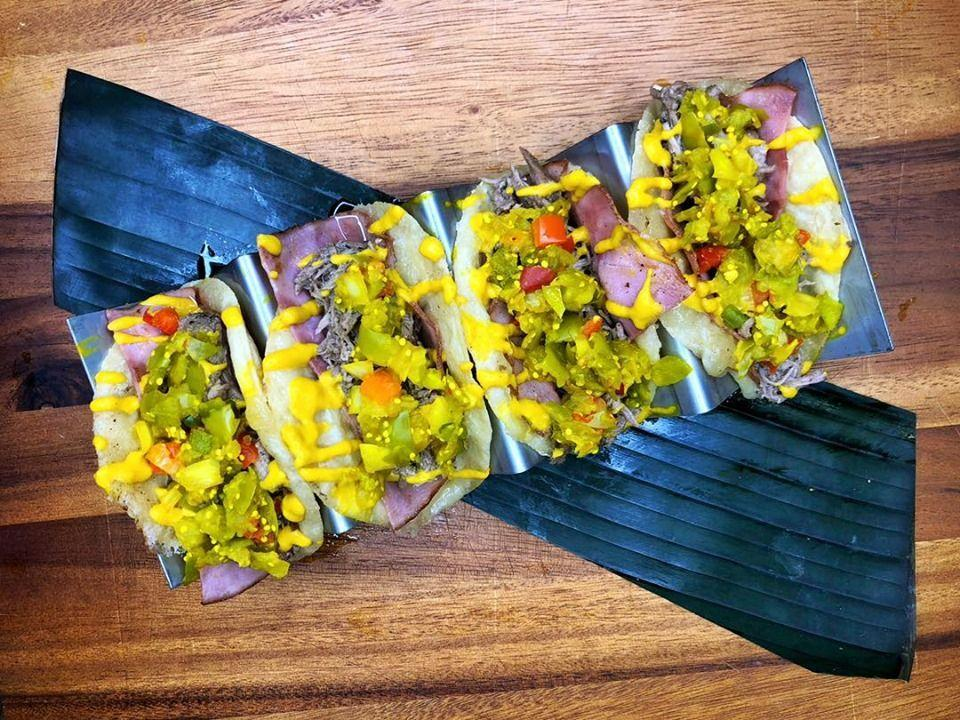 """<p>With multiple locations all over Missouri, <a href=""""https://www.missiontacojoint.com/"""" rel=""""nofollow noopener"""" target=""""_blank"""" data-ylk=""""slk:Mission Taco Joint"""" class=""""link rapid-noclick-resp"""">Mission Taco Joint</a> was first opened by two brothers who grew up in California and decided that food was the best way to stay in touch with their roots. They also serve some interesting tacos with duck, hot fried chicken, and portobello. </p><p><em>Check out <a href=""""https://www.facebook.com/MissionTacoJoint/"""" rel=""""nofollow noopener"""" target=""""_blank"""" data-ylk=""""slk:Mission Taco Joint on Facebook"""" class=""""link rapid-noclick-resp"""">Mission Taco Joint on Facebook</a>.</em></p>"""