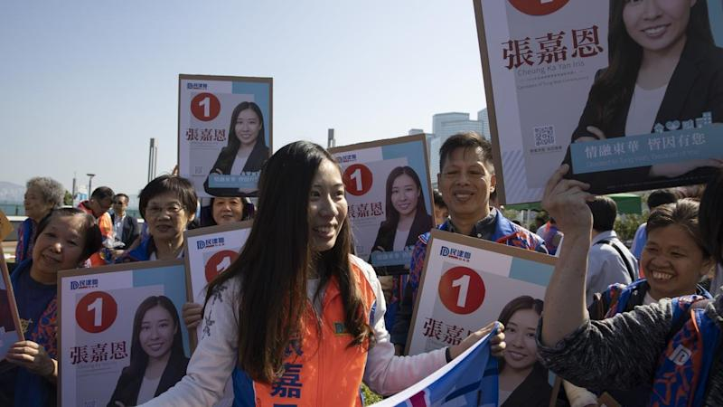 Hong Kong district council elections have attracted a record number of candidates and enrollments
