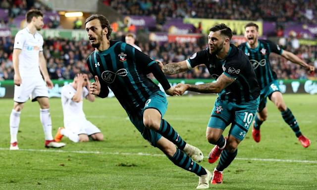 Manolo Gabbiadini lifts Southampton out of mire and sends West Brom down
