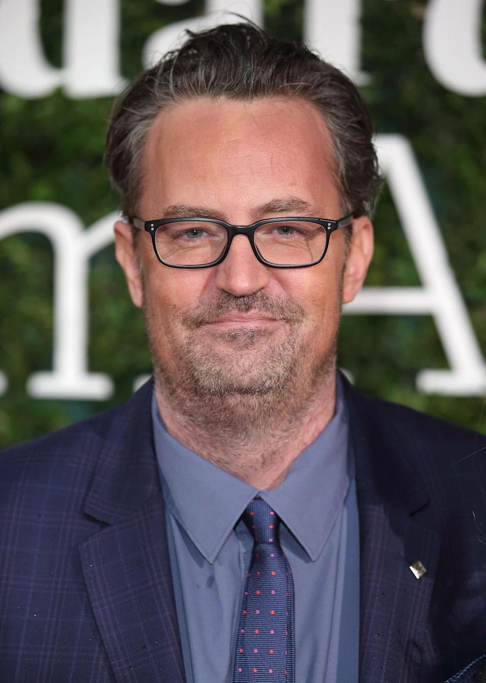 LONDON, ENGLAND - FEBRUARY 07:  Matthew Perry attends the London Evening Standard British Film Awards at Television Centre on February 7, 2016 in London, England.  (Photo by Mike Marsland/WireImage)