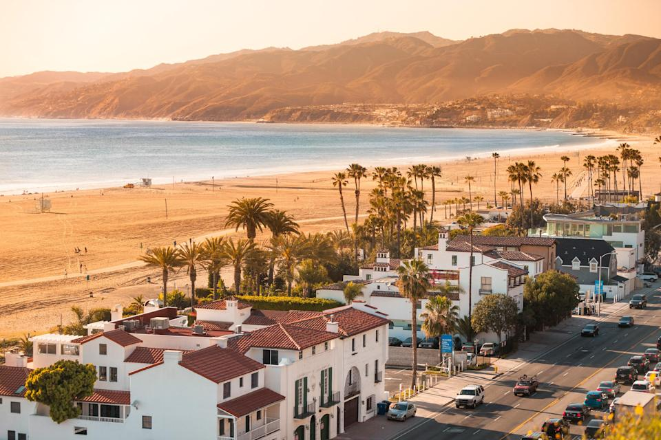 """<p><strong>Give us the wide-angle view: What kind of beach are we talking about?</strong><br> Santa Monica is one of the most iconic beaches in the Greater Los Angeles area. Its long white sandy beaches, the pier, and the Annenberg Community Beach House define it, and it's always teeming with activity and people.</p> <p><strong>How accessible is it?</strong><br> One of the reasons Santa Monica Beach is such a popular destination is its accessibility. Since 2016, the <a href=""""https://www.cntraveler.com/stories/2016-05-10/soon-you-can-ride-la-metros-expo-line-to-santa-monica?mbid=synd_yahoo_rss"""" rel=""""nofollow noopener"""" target=""""_blank"""" data-ylk=""""slk:Metro Rail Expo Line"""" class=""""link rapid-noclick-resp"""">Metro Rail Expo Line</a> has transported L.A.'s beachgoers from Downtown all the way to the beach. That access has transformed Santa Monica Beach into an incredibly vibrant place with a diverse a group of people. Getting around Santa Monica Beach is just as easy, with bike rentals everywhere, and the electric """"Bird"""" scooters parked along the beach.</p> <p><strong>Decent services and facilities, would you say?</strong><br> You can get almost anything you need on Santa Monica Beach. Want to ride a Segway? There's a stand for that. Enjoy roller coasters? Get tickets to Pacific Park on the Santa Monica Pier. Want some pancakes? Indulge in a high-end brunch of lemon ricotta pancakes with blackberries ($23) at Coast, in the luxury hotel <a href=""""https://www.cntraveler.com/hotels/united-states/santa-monica/shutters-on-the-beach-santa-monica?mbid=synd_yahoo_rss"""" rel=""""nofollow noopener"""" target=""""_blank"""" data-ylk=""""slk:Shutters on the Beach"""" class=""""link rapid-noclick-resp"""">Shutters on the Beach</a>. There's also a video game arcade, acrobats, and on and on.</p> <p><strong>How's the actual beach stuff—sand and surf?</strong><br> Dipping into the water at Santa Monica Beach can be an adventure. First off, it will be crowded on summer days—that's a given. Second, from time to time, the"""