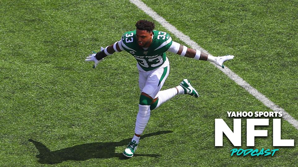 The New York Jets' non-trade of Jamal Adams was likely the biggest storyline to emerge from a lackluster 2019 trade deadline. (Photo by Rich Graessle/Icon Sportswire via Getty Images)