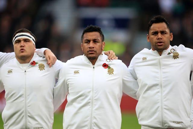 Saracens trio Jamie George (left), Mako Vunipola (middle) and Billy Vunipola (right) have been dropped by England