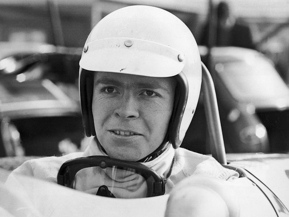 <p>Mosley pictured in 1968, at the start of his motor racing career</p> (Getty)