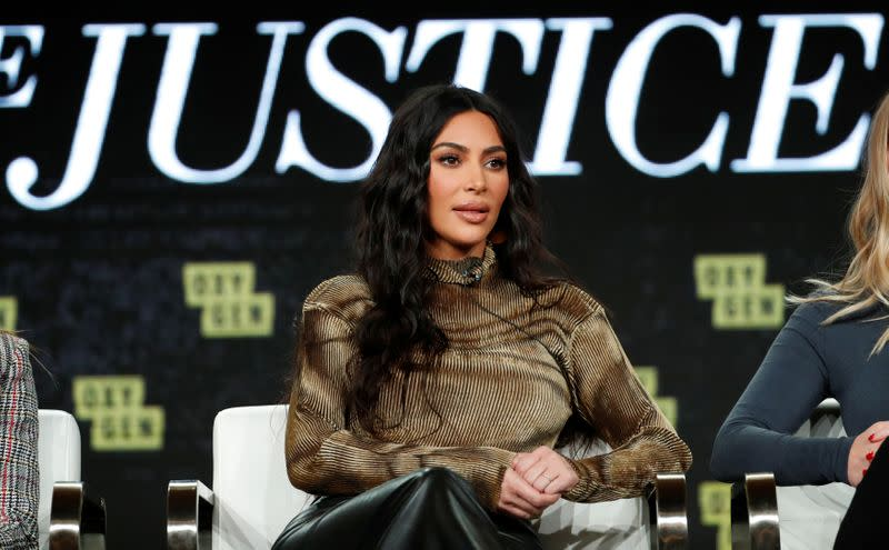 "Foto de archivo de Kim Kardashian en un panel sobre el documental ""Kim Kardashian West: The Justice Project"" en California"