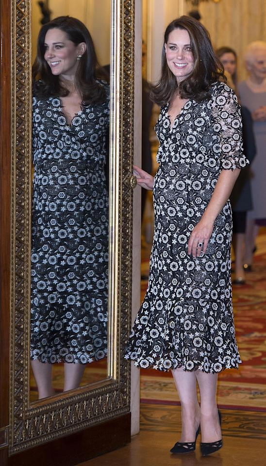 <p>She's quickly approaching the due date for her third baby, but Kate Middleton is still at the top of her fashion game.</p>