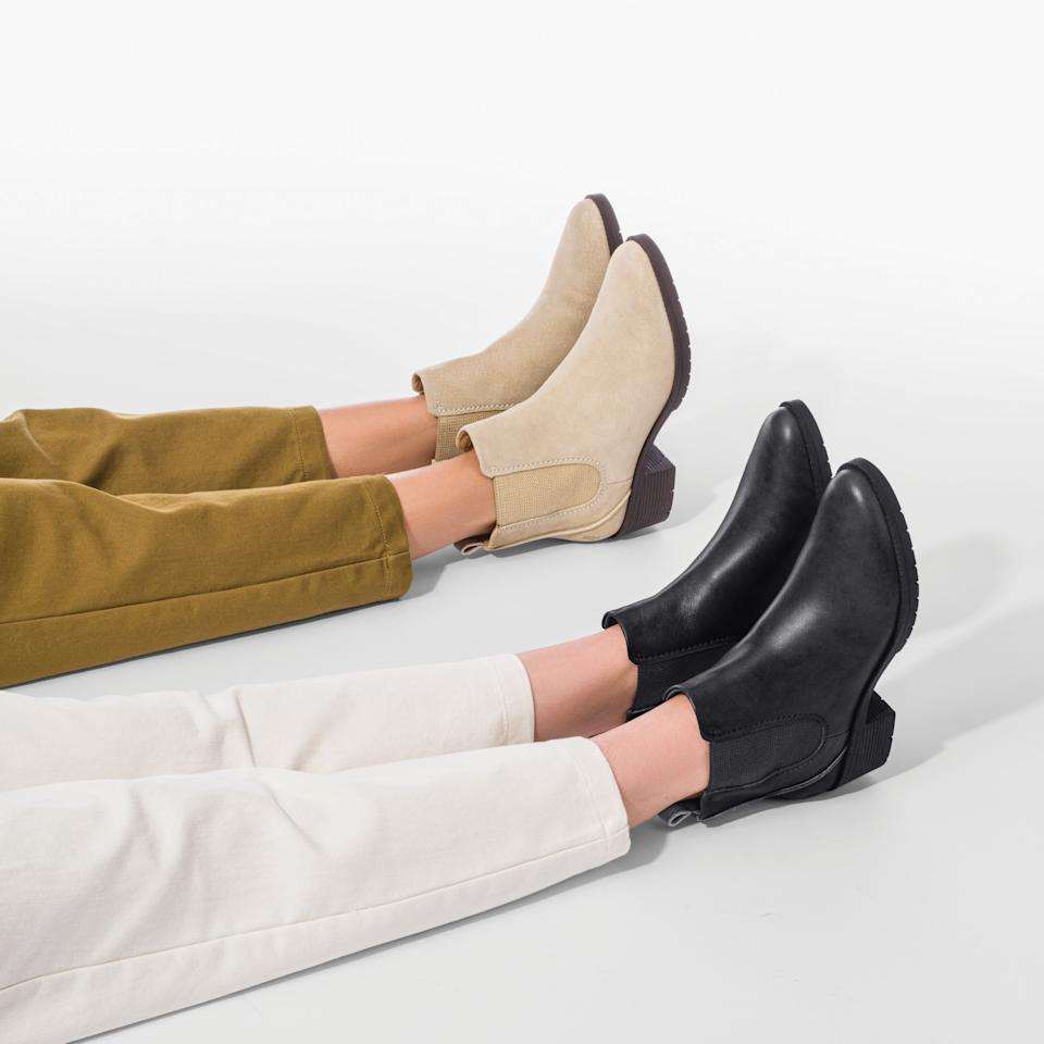 We tries Hush Puppies' new line of WorryFree boots. Photograph by Daniel Van Duinen courtesy of Hush Puppies.