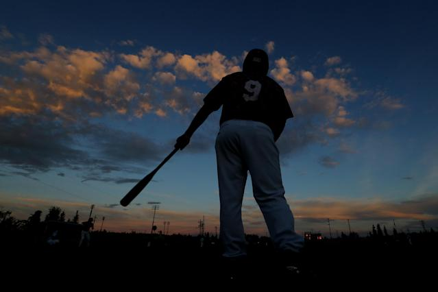 They played baseball for 24 hours straight in Alaska to mark Summer Solstice