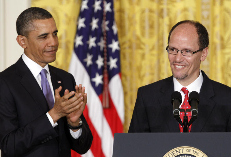 Obama nominates Justice official to top Labor slot