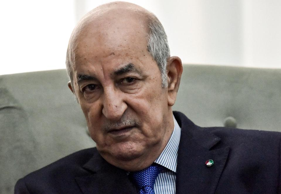 <p>Abdelmadjid Tebboune, the president of Algeria, has been receiving medical treatment in Germany. </p> (AFP via Getty Images)