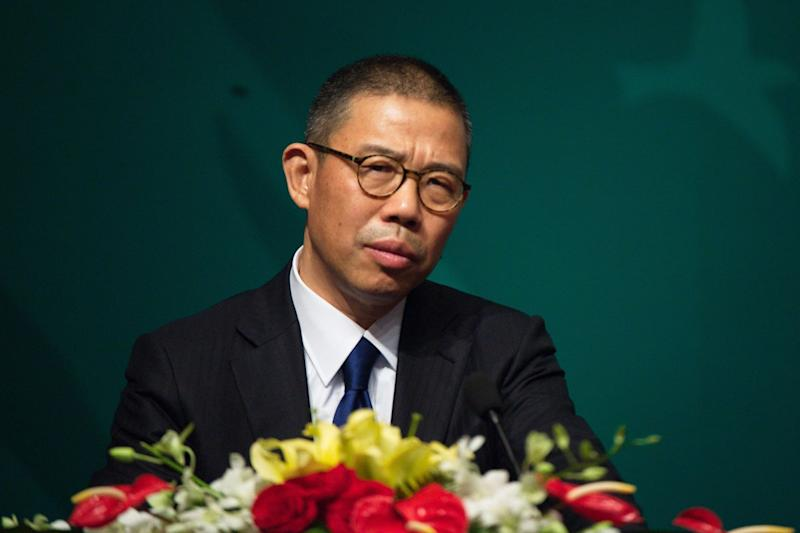 Zhong Shanshan, founder of the bottled water company Nongfu Spring, is now China's richest person. (Rex Features)