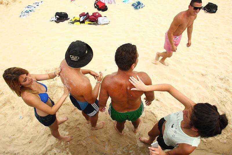 You might want to check the expiration date on your sunscreen before you bring it to the beach