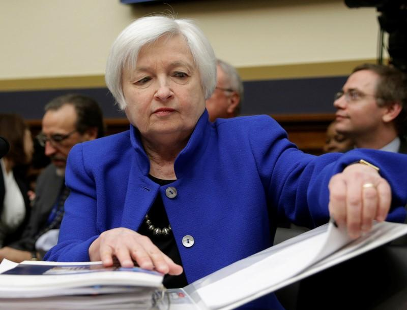 U.S. Federal Reserve Board Chair Yellen testifies at the House Financial Services Committee in Washington