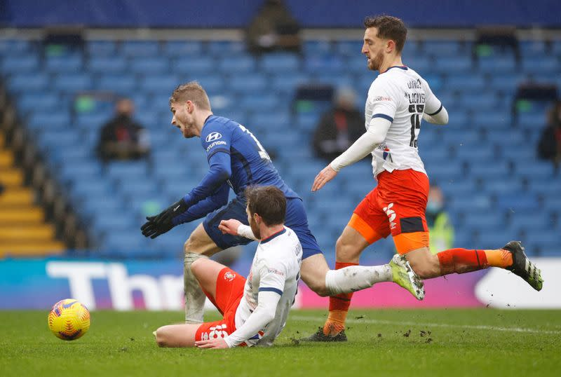 FA Cup - Fourth Round - Chelsea v Luton Town