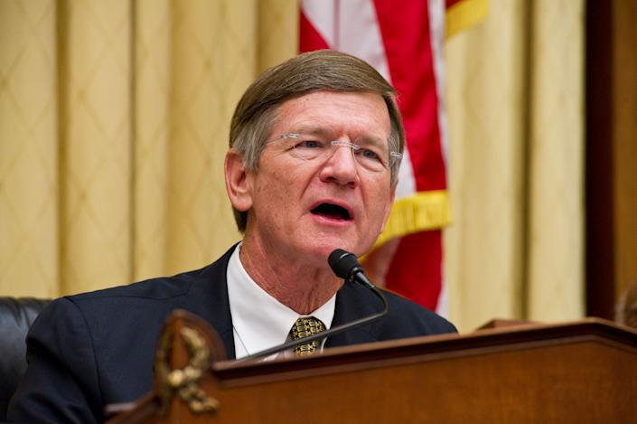 Rep. Lamar Smith (R-Texas) has a history of attacking federal climate scientists. (Photo: Scott J. Ferrell via Getty Images)