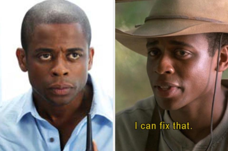 Both played by: Dulé Hill