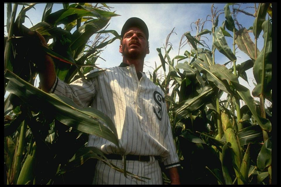 <p><strong><em>Field of Dreams </em></strong></p><p>If you build it, the ghosts of baseball players past will come out of the cornfield to relive their glory. <strong><br></strong></p>