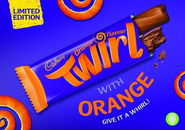 Form an orderly queue, it's here for a limited time only. [Photo: Cadbury]