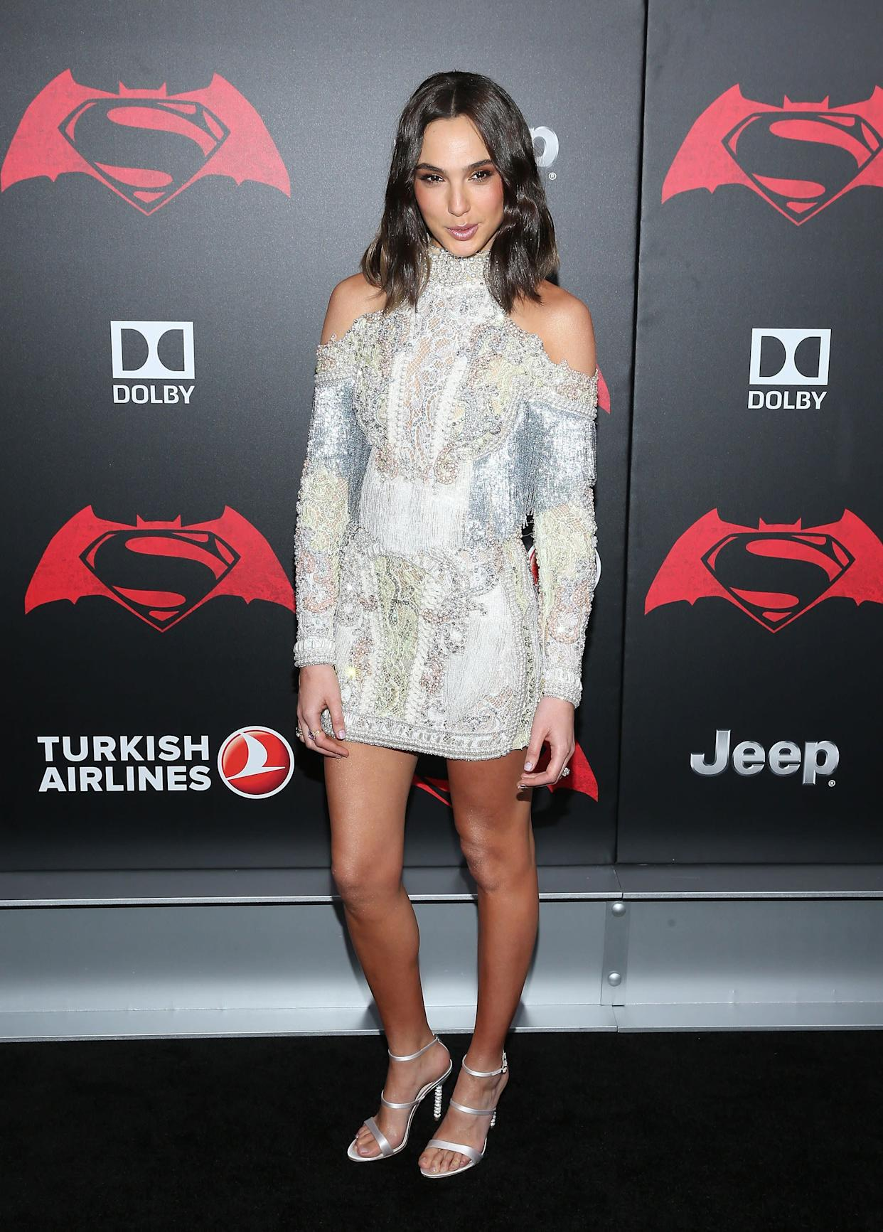 "At the ""Batman V Superman: Dawn Of Justice"" New York Premiere."