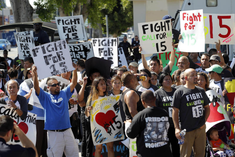 Workers' protests highlight fast-food economics