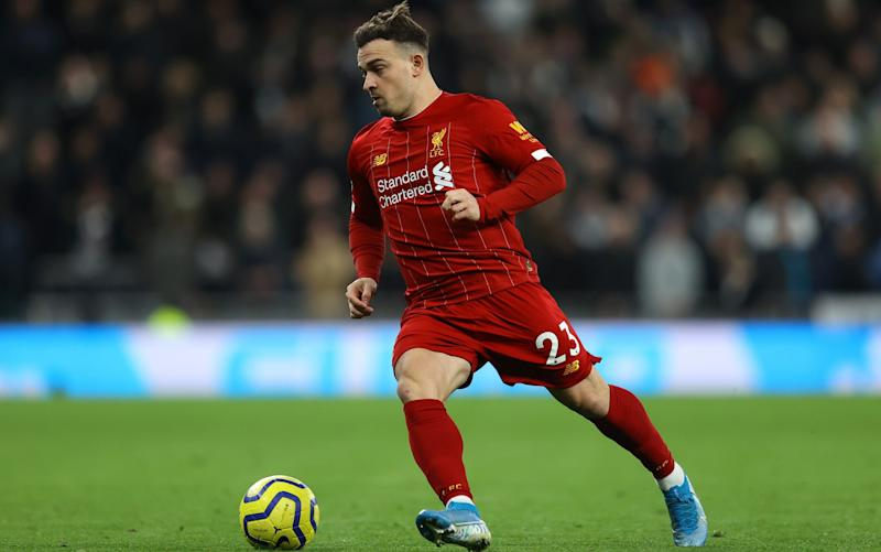 Liverpool do not want to lose Xherdan Shaqiri this month - Getty Images Europe