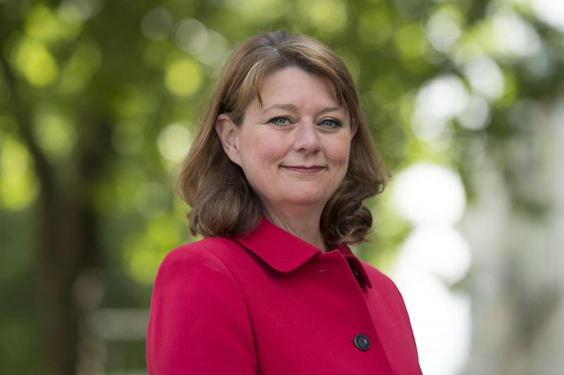 Leanne Wood, leader of Plaid Cymru in June last year: Getty Images