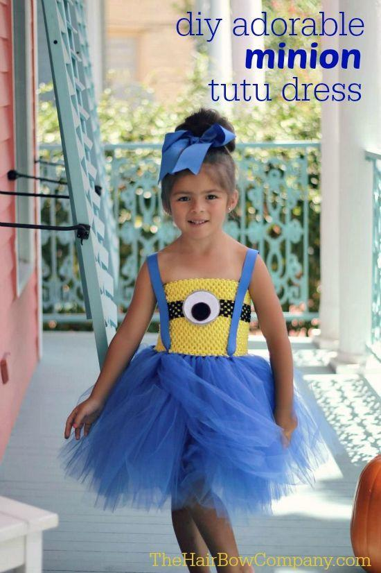 """<p>If your little one is looking for a creative take on a Minion ensemble, this tutu costume is perfect! </p><p><strong>Get the tutorial at <a href=""""https://www.thehairbowcompany.com/minion-costume.html"""" rel=""""nofollow noopener"""" target=""""_blank"""" data-ylk=""""slk:The Hair Bow Company"""" class=""""link rapid-noclick-resp"""">The Hair Bow Company</a>. </strong> </p><p><strong><a class=""""link rapid-noclick-resp"""" href=""""https://www.amazon.com/Craft-Party-fabric-wedding-decoration/dp/B07H53CQQ8/ref=sr_1_1_sspa?th=1&tag=syn-yahoo-20&ascsubtag=%5Bartid%7C10050.g.28305850%5Bsrc%7Cyahoo-us"""" rel=""""nofollow noopener"""" target=""""_blank"""" data-ylk=""""slk:SHOP BLUE TULLE"""">SHOP BLUE TULLE</a><br></strong></p>"""