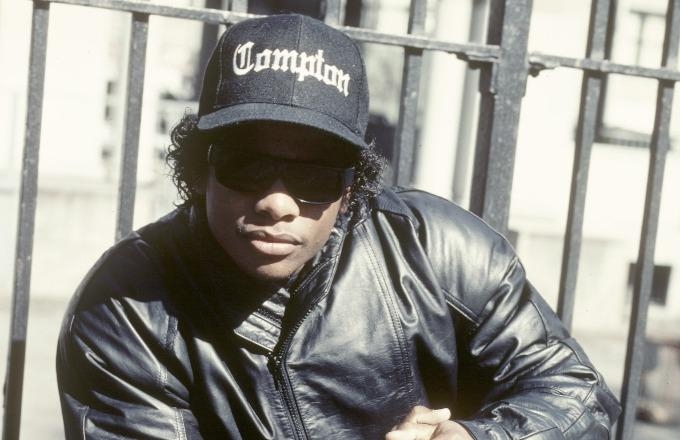new arrival 8616c ad998 Eazy-E to Be Honored With Bench in Tiny Sussex Town ...