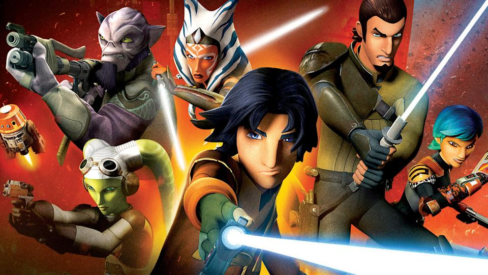 Every Star Wars: Rebels episode is available to stream on Disney+. (Lucasfilm)