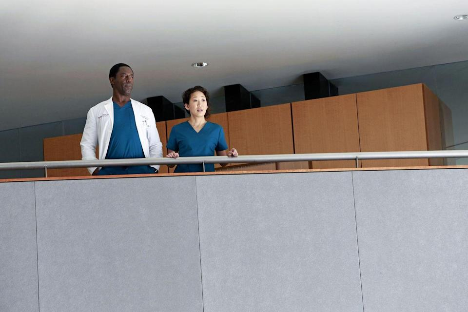 <p>Although his time as a regular member of the <em>Grey's </em>cast ended in season 3, Washington made a guest appearance on the show in season 10 to give some closure to his character's relationship with Cristina when Sandra Oh left the show. </p>