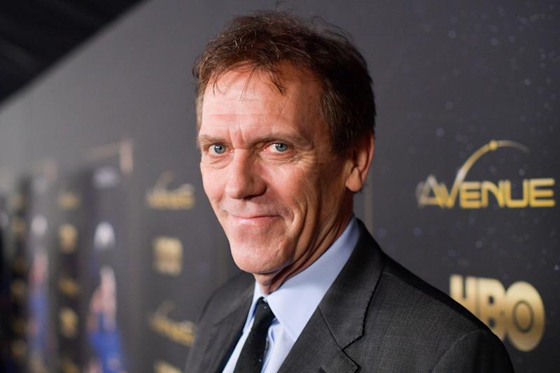 BEST FORM OF DEFENCE: HUGH LAURIE (Getty Images)