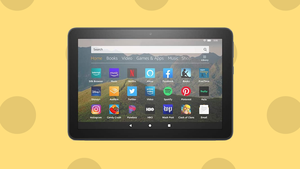 You've sent your mom reaching for the aspirin often enough; how 'bout getting her a tablet she'll actually enjoy? (Photo: Amazon)