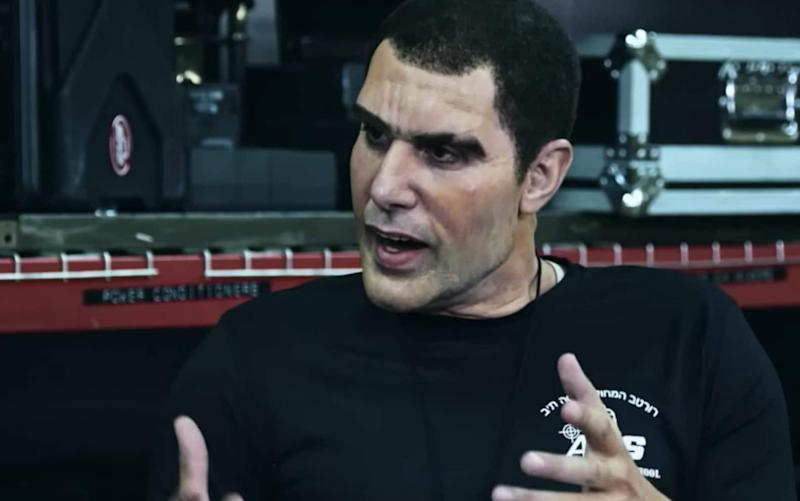 Sacha Baron Cohen as anti-terror expert Erran Morad in 'Who Is America?' - Channel 4/Showtime
