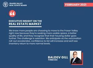 FVREB CEO, Baldev Gill, explains why home sales - specifically single-family detached and townhomes - are breaking 100-year records in the Fraser Valley, BC.