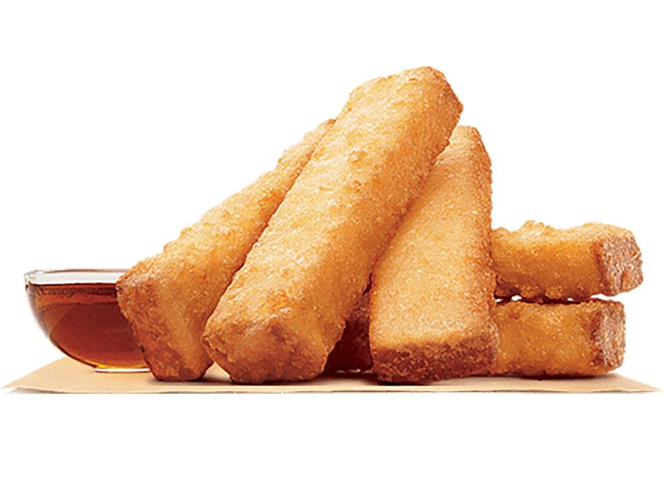 burger king french toast sticks with syrup dip