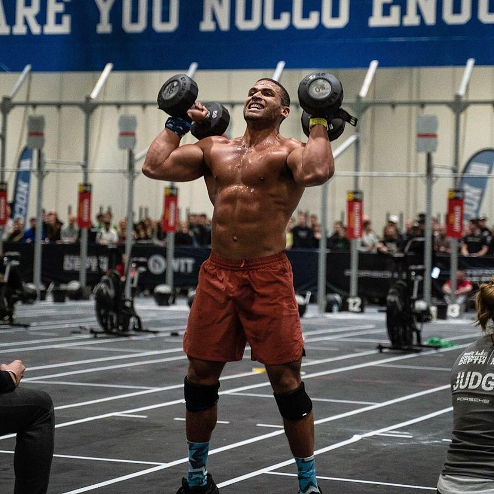 "<p>""What I love about EMOM-style workouts is that they are such a mentally challenging protocol,"" says <a href=""https://www.menshealth.com/uk/fitness/a32822211/zack-george-greg-glassman-crossfit/"" rel=""nofollow noopener"" target=""_blank"" data-ylk=""slk:Zack George"" class=""link rapid-noclick-resp"">Zack George</a>, CrossFit athlete and <a href=""https://www.menshealth.com/uk/health/a34412098/buy-the-november-issue-of-mens-health/"" rel=""nofollow noopener"" target=""_blank"" data-ylk=""slk:UK's fittest man"" class=""link rapid-noclick-resp"">UK's fittest man</a>. ""If you do 20kcal on the rower in 50 seconds, you're forced to go in 10 seconds when the next minute hits, instead of resting longer.""</p><p>The following are rep counts he has worked up to over a five-year period, so choose a scheme that you feel you can complete for the whole 30 minutes. Once you have found the right level, you can then slowly nudge those reps to higher numbers over the coming weeks. </p><p>""The satisfaction of completing this EMOM is something special. The real magic happens 20 minutes in, when you feel like you can't carry on. Grit your teeth and get through it.""</p>"