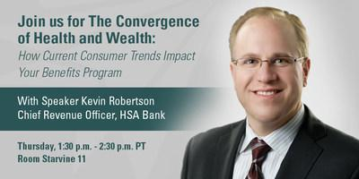 HSA Bank to Present on the Convergence of Health and Wealth